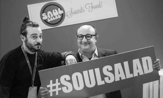Francesco Seminara con Ciccio Sultano