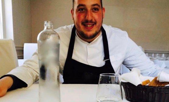 Lo chef Francesco Tiano