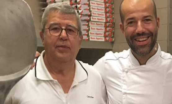 Enrico e Luca Brancati, papà e figlio
