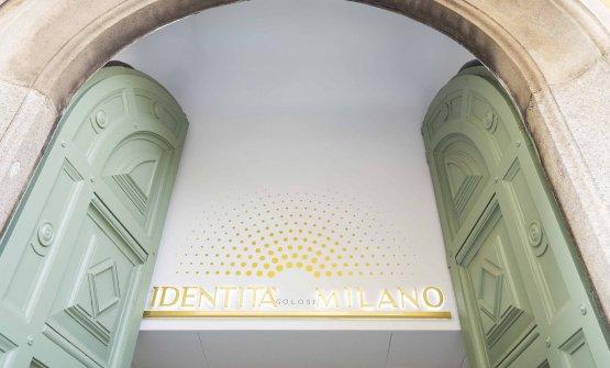 L'ingresso di Identità Golose Milano, in via