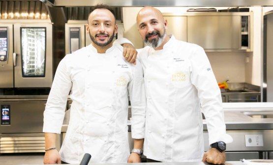 Da sinistra, Alessandro Rinaldi e Andrea Ribaldone