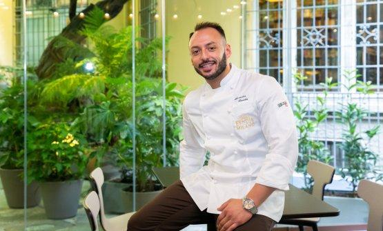 Il resident chef Alessandro Rinaldi