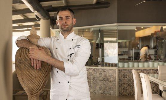 Giuseppe Biuso, chef del ristorante Il Cappero