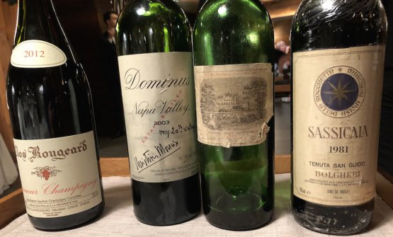 ...the wine pairing with green pepper is a memorable list of 3 wines, distant in time and in space, animated by that strong note. And such wines: Clos Rougeard Saumur Champigny 2012 (Loira), Dominus 2003 (Napa Valley), Château Lafite 1973 (Bordeaux) and Sassicaia 1981 (Tuscany)