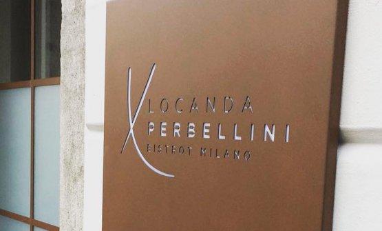 La nuova Locanda Perbellini a Milano e, sotto, lo staff