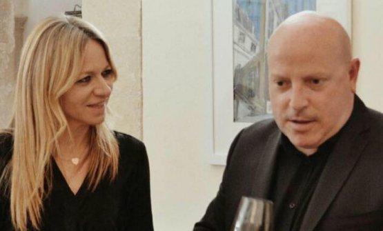 Carmelo Sgandurra con Stefania Lattuca
