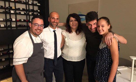Salvatore Vicari, Carmelo Iozziae Jessica Andolinacon Massimiliano Alajmo