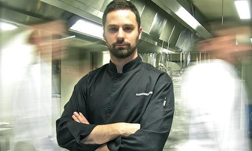Alessandro Dal Degan, classe 1981, chef del ristor