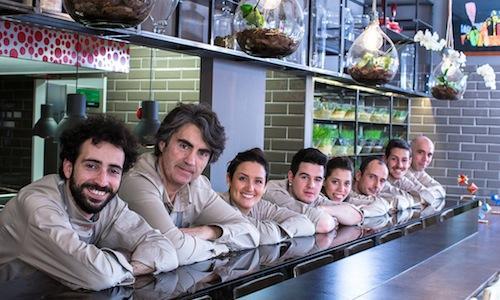 Èvviva's team in Viale Gramsci 31 in Riccione (