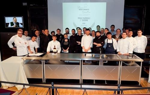 Foto di gruppo all'atto finale del Premio Birra Mo