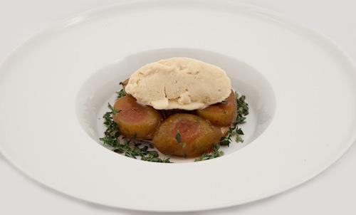 Pork Belly glazed in Birra Moretti Zero, with cher