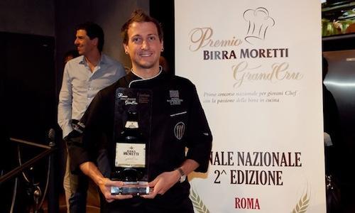 Christian Milone, chef della Gastronavicella della