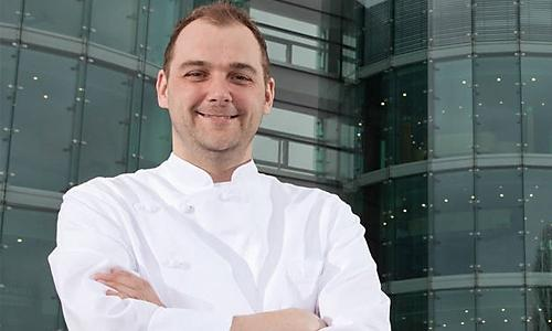 Swiss chef Daniel Humm, working at Eleven Madison