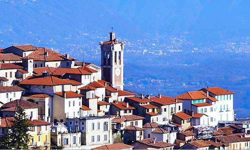 Un'immagine del Sacro Monte di Varese, splendido l