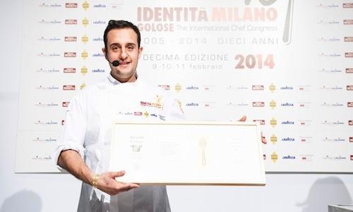 Luigi Salomone, sous chef del ristorante Marennà