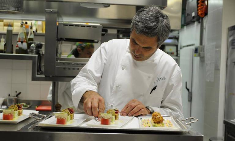 Pietro Leemann, classe 1961, dal 1990 chef di