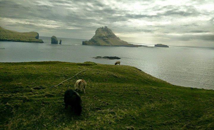 Uno scorcio scenografico delle Faroe (Fær Øer op