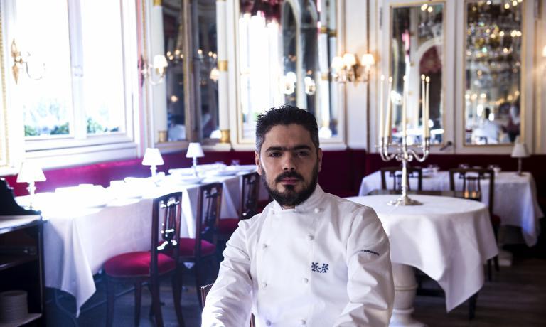Matteo Baronetto, del ristorante Del Cambio di Tor