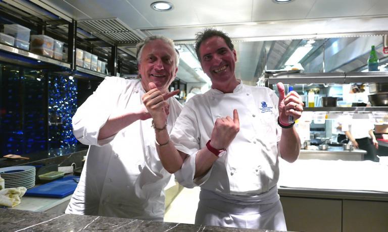 Davide Scabin, chef del Combal.zero di Rivoli (Tor