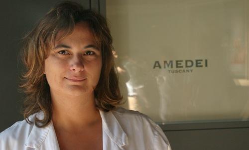 Cecilia Tessieri�primo ma�tre chocolatier donna al mondo. Dal 1990 � l'anima di Amedei, azienda di�La Rotta-Pontedera (Pisa)