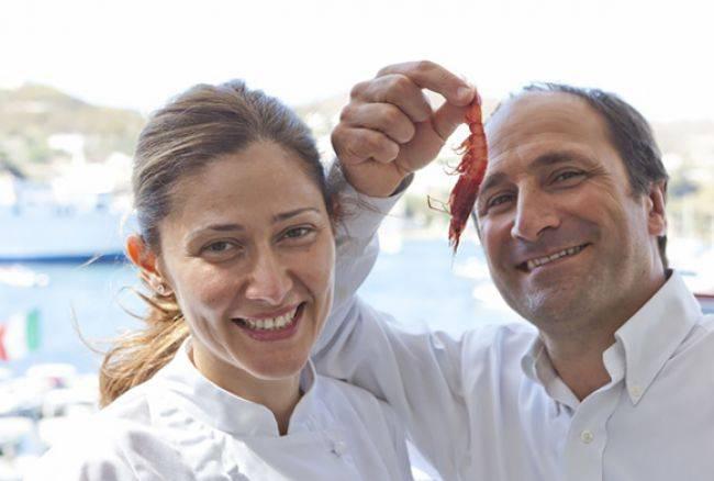 Patrizia Ronca e Gino Pesce, moglie e marito, pasticciera e chef