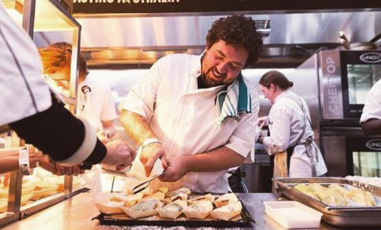 Lo chef Duncan Welgemoed