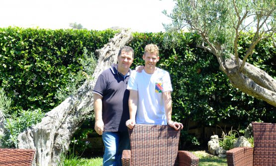 Antonio and Luca Abbruzzino, father and son: the