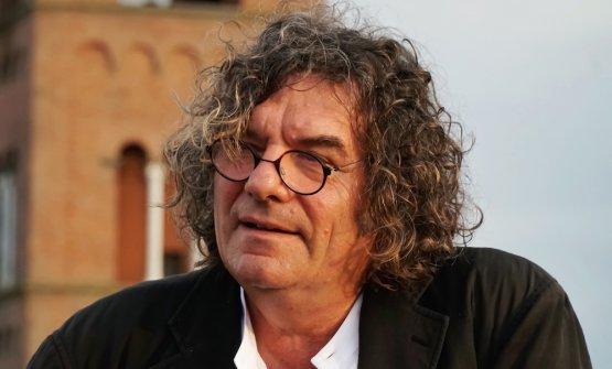 Fulvio Pierangelini, chef, molto legato alla Doc Montecarlo (Lucca), compagine di 17 produttori di vino da poco meno di 1 milione di bottiglie, per un totale di 200 ettari di vigne (foto del servizio di Luca Managlia)