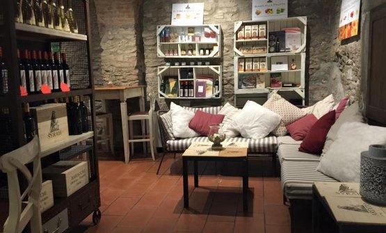 L'ingresso diBottega Baracchi, invia Nazionale 78,Cortona (Arezzo),telefono +39.0575.613874, chefMirco Carboni