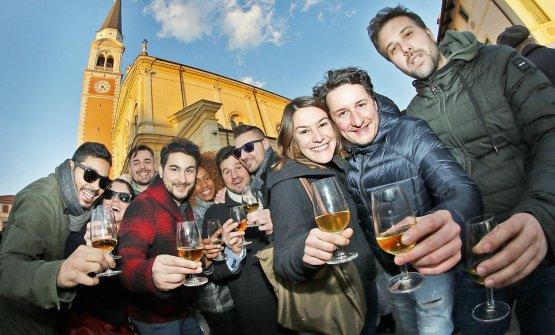 Si è svolta domenica 21 gennaio la Prima del Torcolato in piazza a Breganze (credit: Photo Stella per Consorzio Breganze Doc)