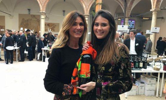 Gianna Neri e la figlia Diletta durante il Benvenu