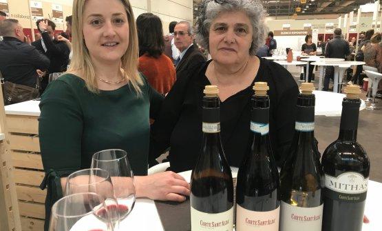 Marinella Camerani insieme alla figlia Federica