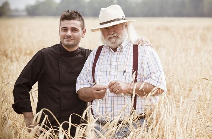 Antonio Cuomo, chef dell'Hostaria del San Lorenzo (Bergamo), ristorante Veg+