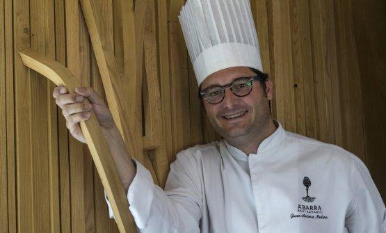 Juan Antonio Medina, 46 anni, chef del ristorante