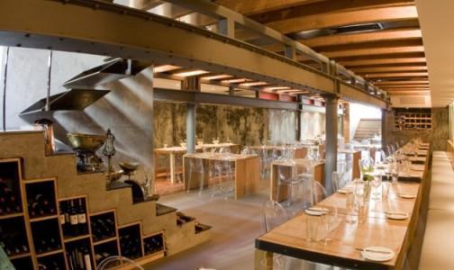 Gli interni del ristorante Carne SA di Città del