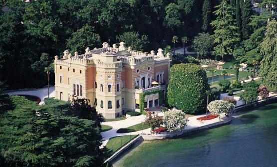 Villa Feltrinelli, struttura neoromantica costruita alla fine dell'Ottocento