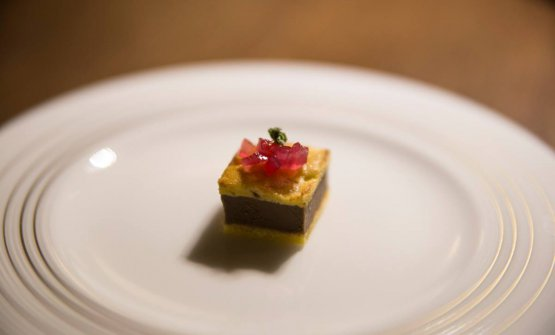 Genoise al parmigiano fegato di vitella e cipolla