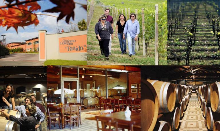 La famiglia Braida, viticoltori a Rocchetta Tanaro (Asti)