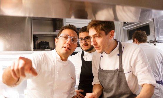 Stefano Ciotti(Nostrano, Pesaro) e il suo team