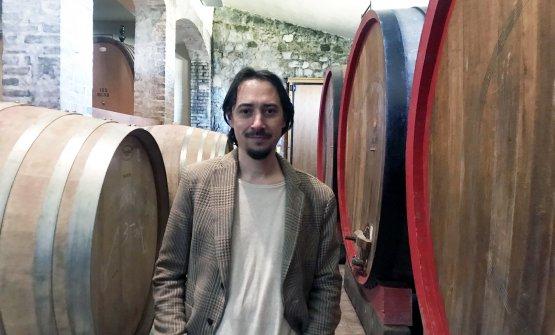 Emanuele Nardi, nipote di Emilia, è l'enologo di Tenute Silvio Nardi