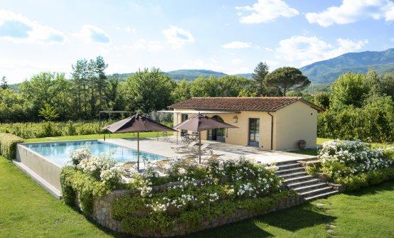 Villa Casetta de Il Borro relais & chateaux (foto Francesca Pagliai)