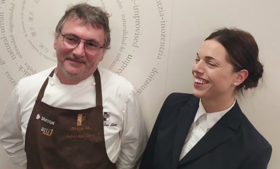 With Andoni Luis Aduriz, chef and founder at Mugaritz, in March 1998