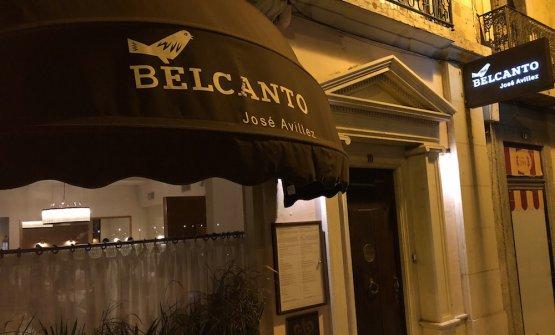 Belcanto,Avillez's flagship restaurant. In Mayhe'll move next door