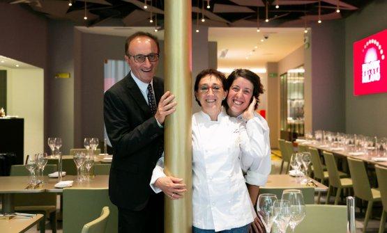 Con Mauro e Marta c'è anche la fedelissima Eleonora Conte