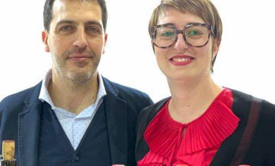 Michele Mastìo e Paola Hofmann