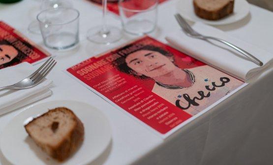 Il menu dedicato a Francesco