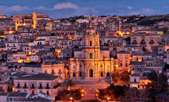 Modica, 54mila abitanti,città patrimonio dell'Unesco (fotowww.sicilia.info)