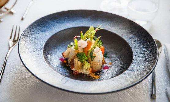 Orto-mare (calamari e verdure)