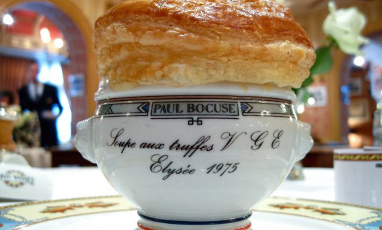 La celebre Soupe aux truffes VGE
