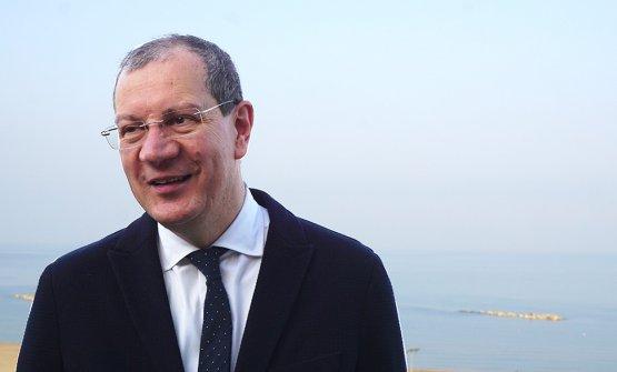 Il presidente del Consorzio Tutela Vini d'Abruzzo Valentino di Campli